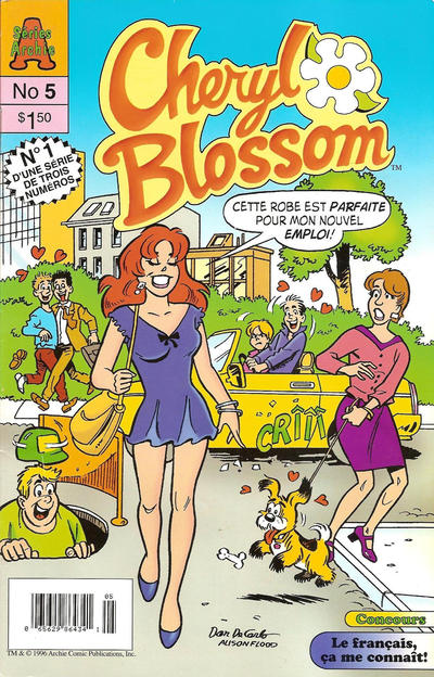 Cover for Cheryl Blossom (Editions Héritage, 1996 series) #5