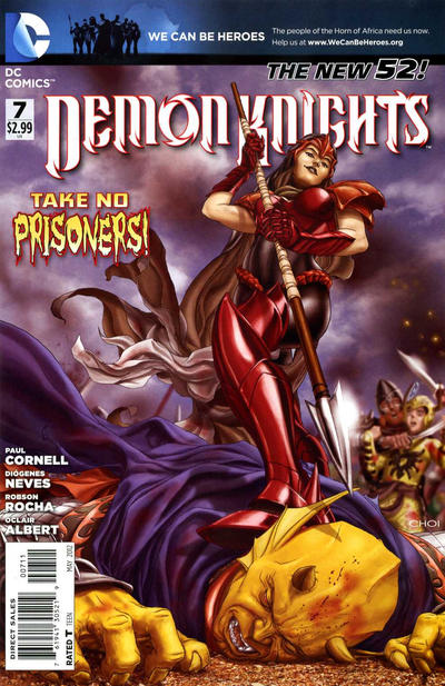 Cover for Demon Knights (DC, 2011 series) #7
