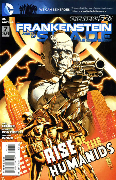 Cover for Frankenstein, Agent of S.H.A.D.E. (DC, 2011 series) #7