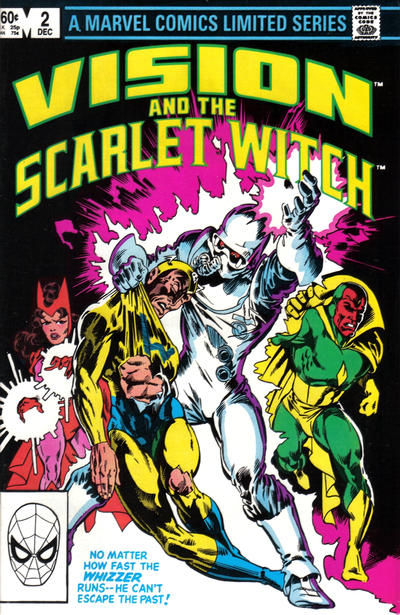 Cover for The Vision and the Scarlet Witch (Marvel, 1982 series) #2 [Direct Edition]