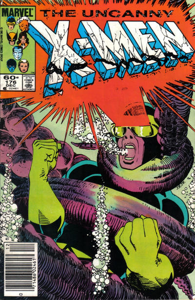Cover for The Uncanny X-Men (Marvel, 1981 series) #176 [Canadian]
