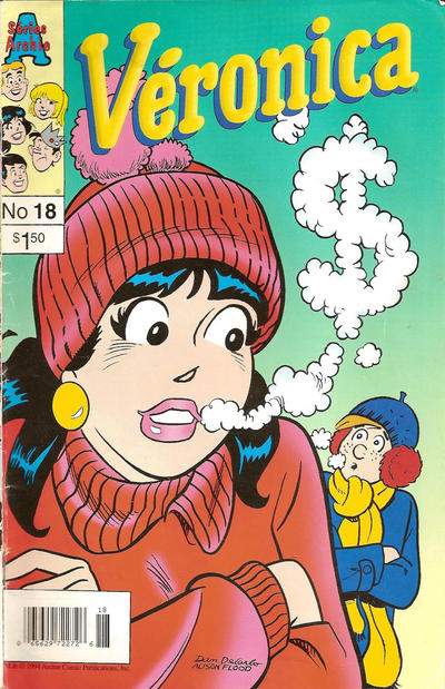 Cover for Véronica (Editions Héritage, 1993 series) #18