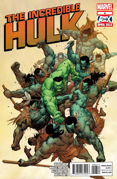 Cover for The Incredible Hulk (Marvel, 2011 series) #6