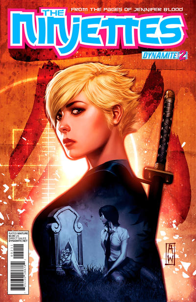 Cover for The Ninjettes (Dynamite Entertainment, 2012 series) #2