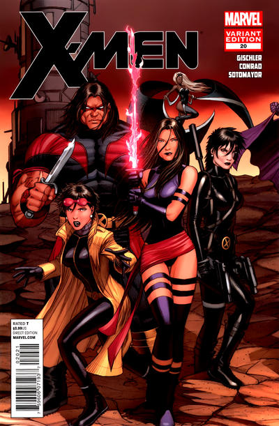 Cover for X-Men (Marvel, 2010 series) #20 [Variant Cover by Dale Keown]