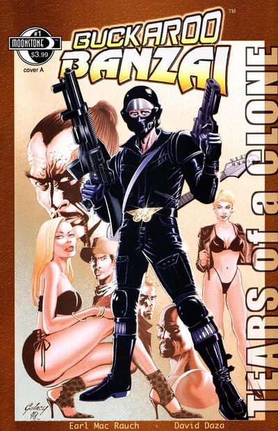 Cover for Buckaroo Banzai: Tears of a Clone (Moonstone, 2012 series) #1