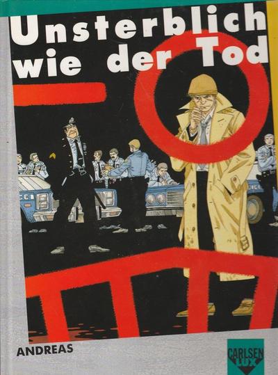 Cover for Carlsen Lux (Carlsen Comics [DE], 1990 series) #3 - Unsterblich wie der Tod