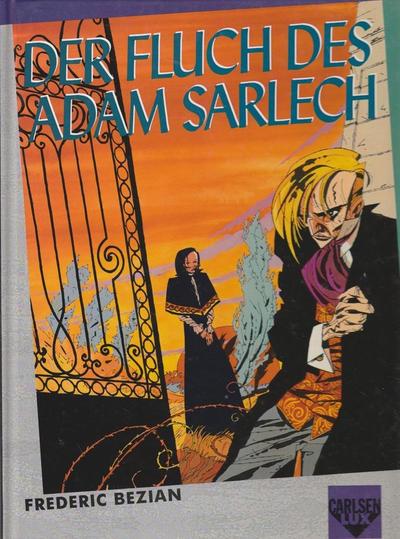 Cover for Carlsen Lux (Carlsen Comics [DE], 1990 series) #6 - Der Fluch des Adam Sarlech