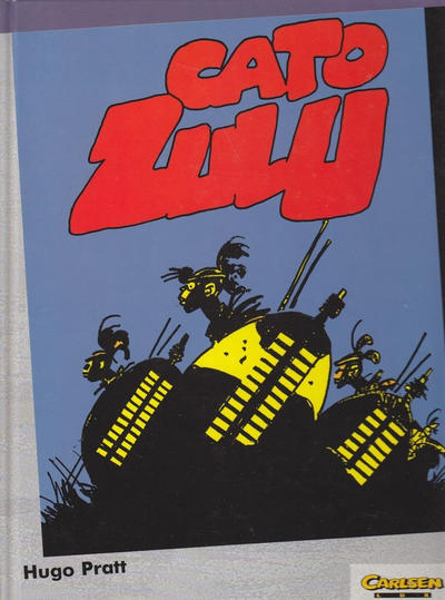 Cover for Carlsen Lux (Carlsen Comics [DE], 1990 series) #20 - Cato Zulu