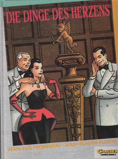 Cover for Carlsen Lux (Carlsen Comics [DE], 1990 series) #27 - Die Dinge des Herzens