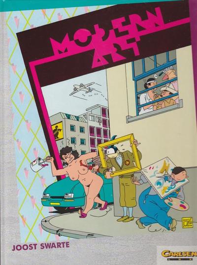 Cover for Carlsen Lux (Carlsen Comics [DE], 1990 series) #30 - Modern Art