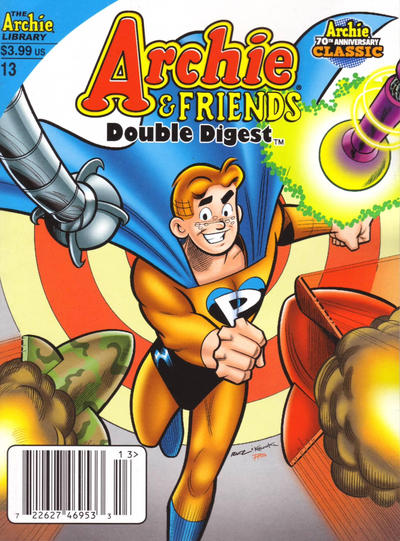 Cover for Archie & Friends Double Digest Magazine (Archie, 2011 series) #13 [newsstand]