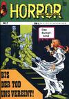 Cover for Horror (Unbekannter Verlag, 2011 series) #7