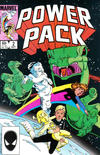 Cover for Power Pack (Marvel, 1984 series) #2 [Direct Edition]