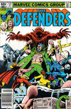 Cover for The Defenders (Marvel, 1972 series) #121 [Newsstand]