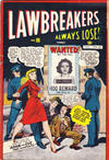 Cover for Lawbreakers Always Lose (Bell Features, 1948 series) #5
