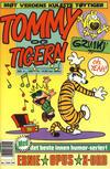 Cover for Tommy og Tigern (Bladkompaniet / Schibsted, 1989 series) #4/1991