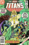 Cover for The New Teen Titans (DC, 1980 series) #25 [Canadian Newsstand]