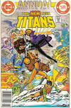 Cover Thumbnail for The New Teen Titans Annual (1982 series) #1 [Canadian]