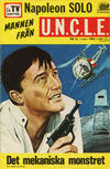 Cover for Mannen från U.N.C.L.E. (Semic, 1966 series) #16