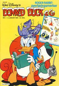 Cover Thumbnail for Donald Duck & Co (Hjemmet / Egmont, 1948 series) #1/1989