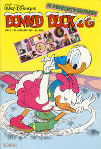 Cover Thumbnail for Donald Duck & Co (Hjemmet / Egmont, 1948 series) #5/1989