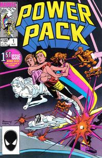 Cover Thumbnail for Power Pack (Marvel, 1984 series) #1 [Direct]