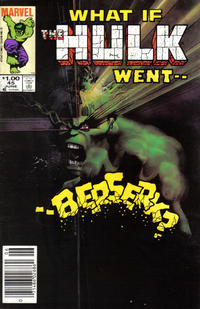 Cover Thumbnail for What If? (Marvel, 1977 series) #45 [Newsstand]