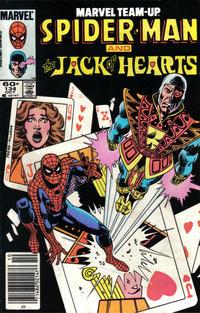 Cover Thumbnail for Marvel Team-Up (Marvel, 1972 series) #134 [Newsstand]