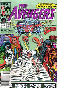 Cover for The Avengers (Marvel, 1963 series) #240 [Direct Edition]