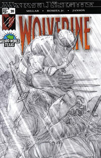 Cover Thumbnail for Wolverine #20 Wizard World Texas Incentive (Marvel; Wizard, 2004 series) #20