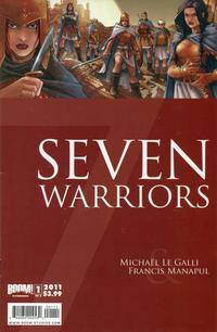 Cover Thumbnail for 7 Warriors (Boom! Studios, 2011 series) #1