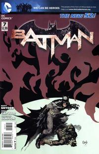 Cover Thumbnail for Batman (DC, 2011 series) #7