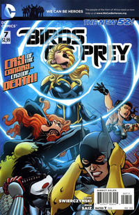 Cover Thumbnail for Birds of Prey (DC, 2011 series) #7