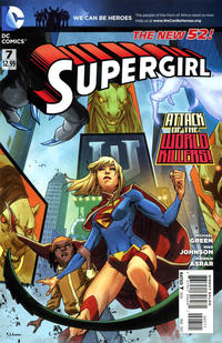 Cover Thumbnail for Supergirl (DC, 2011 series) #7