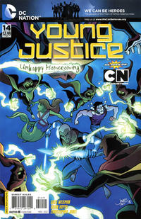 Cover Thumbnail for Young Justice (DC, 2011 series) #14