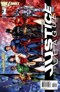 Cover Thumbnail for Justice League (DC, 2011 series) #1 [Second Printing]