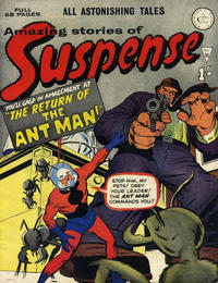 Cover Thumbnail for Amazing Stories of Suspense (Alan Class, 1963 series) #55