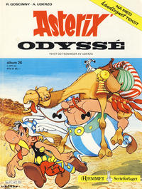 Cover Thumbnail for Asterix (Hjemmet / Egmont, 1969 series) #26 - Asterix' odyssé [2. opplag]
