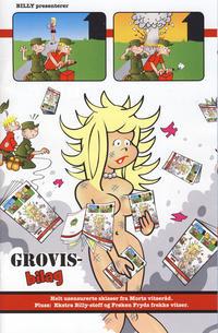 Cover Thumbnail for Bilag til Billy (Hjemmet / Egmont, 2001 series) #5/2012