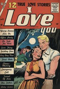 Cover Thumbnail for I Love You (Charlton, 1955 series) #13