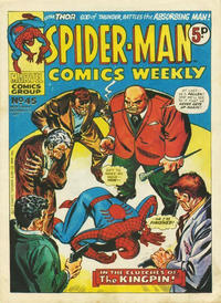 Cover Thumbnail for Spider-Man Comics Weekly (Marvel UK, 1973 series) #45