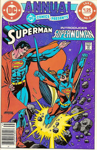 Cover Thumbnail for DC Comics Presents Annual (DC, 1982 series) #2 [Canadian]