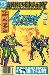 Cover Thumbnail for Action Comics (DC, 1938 series) #544 [Canadian Newsstand]