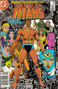 Cover for Tales of the Teen Titans (DC, 1984 series) #57 [Direct Sales]