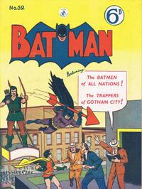 Cover Thumbnail for Batman (K. G. Murray, 1950 series) #59