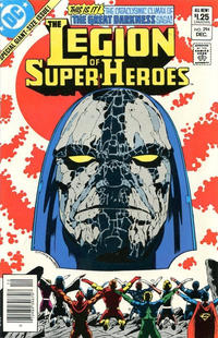 Cover for The Legion of Super-Heroes (DC, 1980 series) #294 [Canadian]