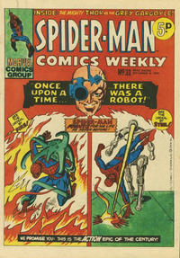 Cover Thumbnail for Spider-Man Comics Weekly (Marvel UK, 1973 series) #31
