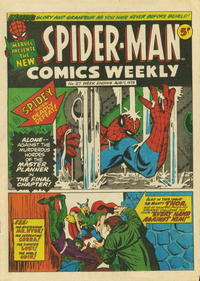 Cover Thumbnail for Spider-Man Comics Weekly (Marvel UK, 1973 series) #27