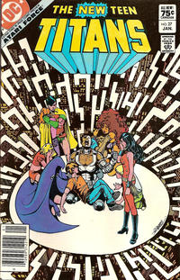 Cover Thumbnail for The New Teen Titans (DC, 1980 series) #27 [Canadian Sales Edition]